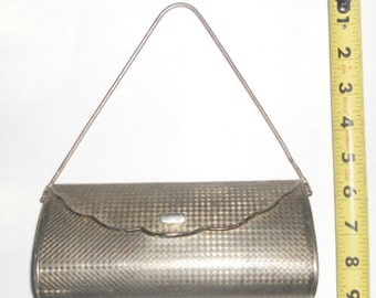 1950's....Vintage Metal minaudiere Purse by VOLUPTE