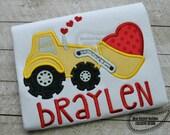 Valentine loader applique