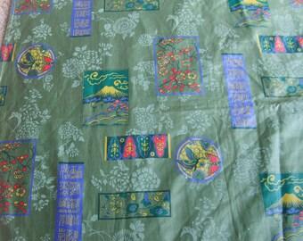 Vintage Quilt, Asian Quilt, Japanese Quilt, Vintage Beddding