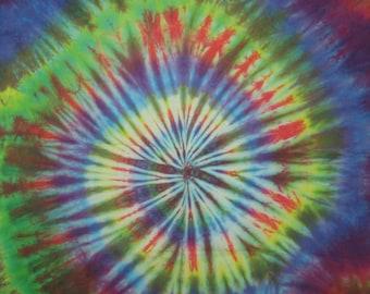 Large Tie Dye Bandana - Rainbow
