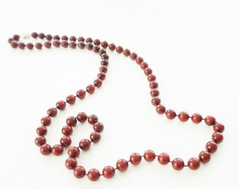 Long Bead Necklace Sarah Coventry Jewelry