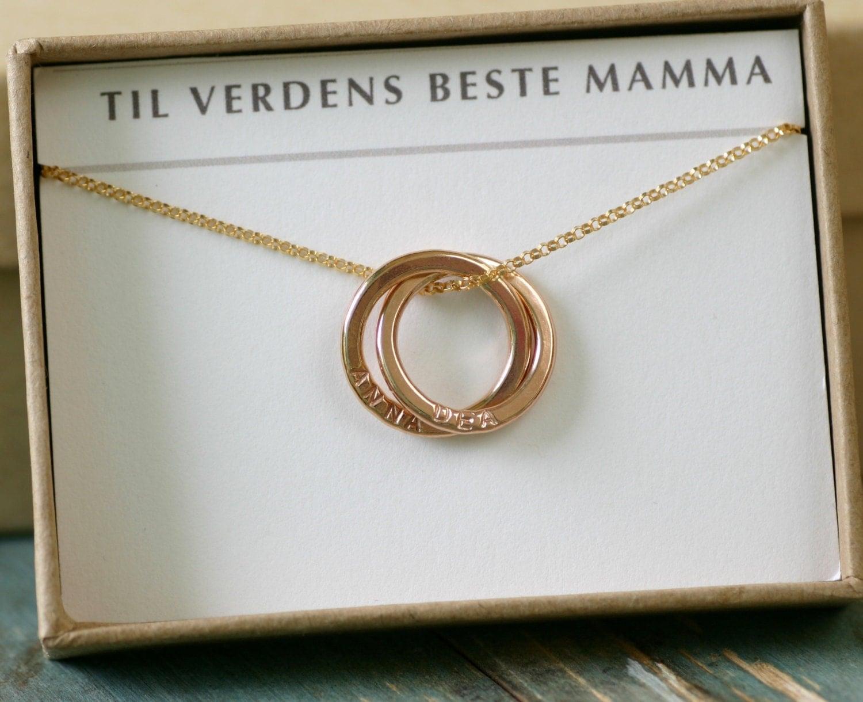 mothers day gift rose gold name necklace for mother necklace. Black Bedroom Furniture Sets. Home Design Ideas