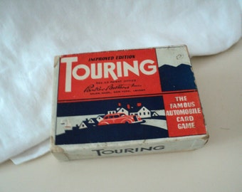 Antique Touring Game 1937 by Parker Brothers