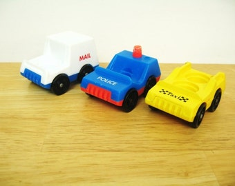 Vintage Fisher Price Main Street Vehicles