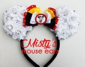 Inspired Minnie mouse ears