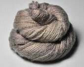 Sensory deprivation OOAK - Silk/Cashmere Fine Lace Yarn