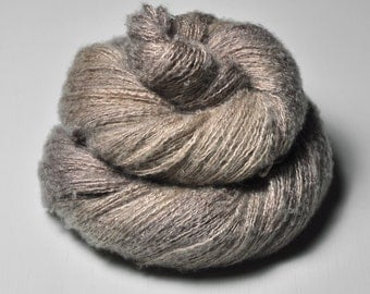 Sensory deprivation OOAK - Silk/Cashmere Fine Lace Yarn