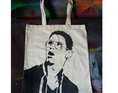Bill Haverchuck canvs tote bag Freaks and Geeks stencil spray paint by Rainbow Alternative