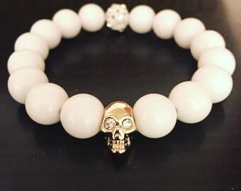 Defiant Skull Bracelet