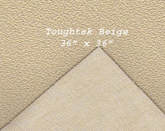 Toughtek Non slip Beige Fabric 36 by 36 inches