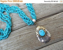 ON SALE Beautiful Tommy Singer necklace handmade in sterling silver