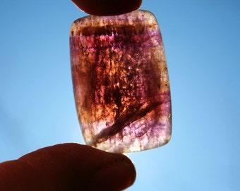Super Seven Cabochon Quartz Crystal Specimen Melody Stone