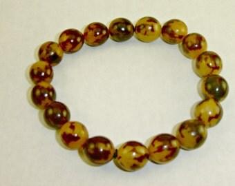 Men's Buri Seed Stretch Bracelet
