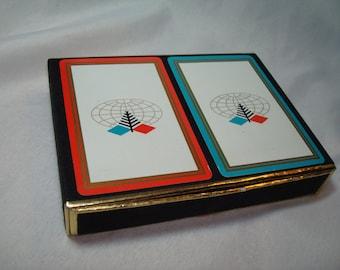 Vintage Congress Diamond International Company Playing Cards.