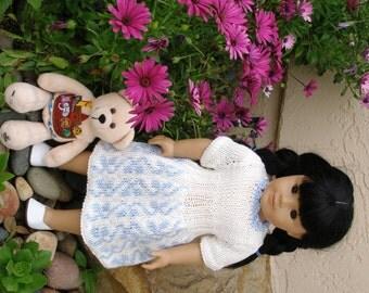 Brooke's Garden Doll Knitting Pattern