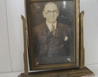 framed vintage photo of someone else's relative
