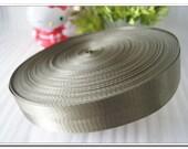 "5 yards of nylon webbing 2cm(7/8""),1 inch(1""),1.25 inch(1-1/4""),1.5 inch(1-1/2""),2 inch(2"") bag strap purse handbag strap green"