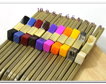 8 inch(20cm)  sewing metal purse frame bag frame with tie bead ( 10 color )