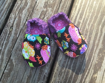 Reversible, Soft Baby Shoe, Size 3-6 Months