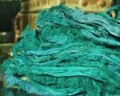 1, 2 or 3 Yards Dyed Fuzzy Eyelash Silky Soft Sari Silk Chiffon Ribbon Yarn Oh Soo Soft!