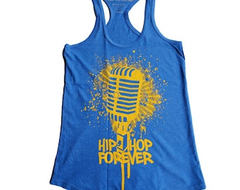 Hip Hop Forever Microphone  Racerback - Free Shipping!