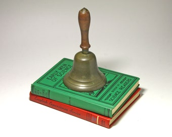 Vintage School Bell - circa early 1900's