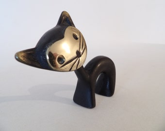 Walter Bosse Cat Figurine Pen Holder, Hertha Baller, Austria, 1950s SALE