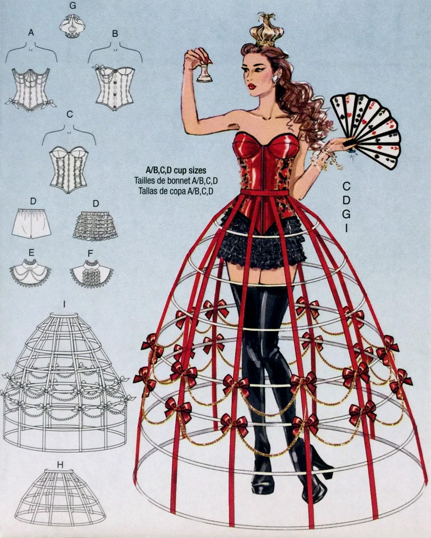 Hoop Skirt Pattern 43