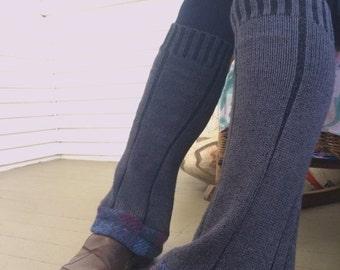 MD Sale Eco Leg Warmers,sweater leg warmers, leg warmers, hippie leg warmers, patchwork leg warmers,charcoal leg warmers,Zasra