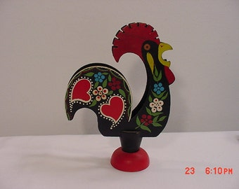 Vintage Rooster Letter Holder ??     16 - 85