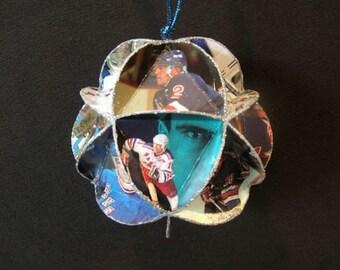 Hockey Card Ornament - New York Rangers Ice Hockey NHL Decoration