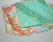 Washi Chiyogami Paper Pack (II)  for Traditional Japanese Origami Paper Project- 20 sheets