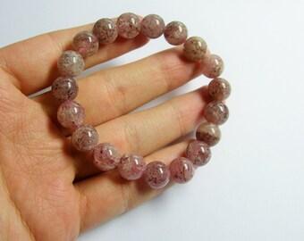 Lepidocrosite - 1 set - 19 beads - 11mm  - 34 grams - LPS2