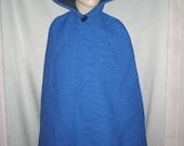 Child Renaissance / Play Hooded Cape / Cloak Size Extra Large Various Colors