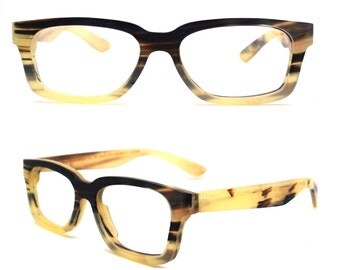 What  you see is what you get  TAKEMOTO AUTUMN  OX horn  square style handmade prescription sunglasses eyeglasses 2016060912412