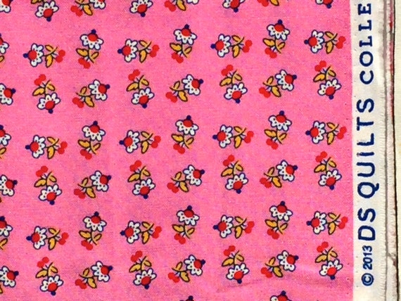 Picadilly tiny flower pink DS Quilts Denyse Schmidt fabric  FQ or more