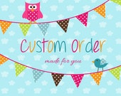 Custom Order for Heather 1 Dozen flowers per our convo