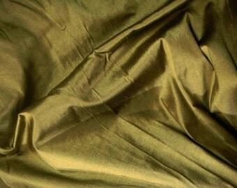 silk fat quarter - olive black 100% pure silk - fat quarter sld203