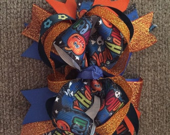 Trick or Treat hairbow