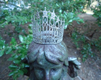 Vintage Miss USA Silver Crown