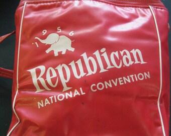1956 Republican National Convention Coca Cola Cooler Bag