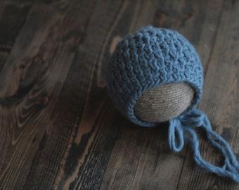 Preston Bonnet - Newborn Knit Bonnet - Newborn Photography Prop