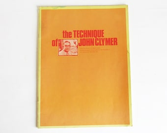 The Technique of John Clymer - 1972 Art Instruction Schools Master Artist Book