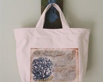Medium cotton canvas bag
