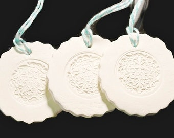 Ceramic Gift Tag or Ornament No2