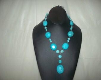 Ladies turquoise necklace