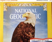 Vintage Nation Geographic July 1976 Bicentennial Edition