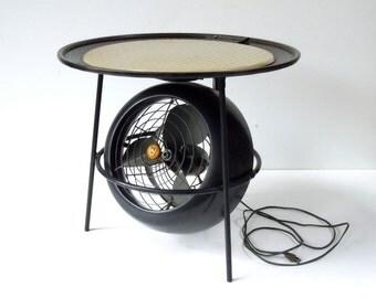 Vornado Table Fan / Vintage Vornado Fan / MCM Industrial Fan / 1950 / Working Condition / Unusual Table Fan / Semi RARE and Scarce / Restore