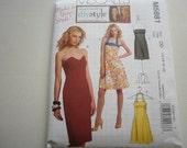 Pattern Ladies Dress 4 Styles Sizes 12 to 18 McCalls 5881