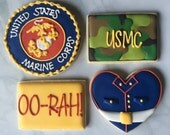 USMC Marine Corp Sugar Cookie Collection